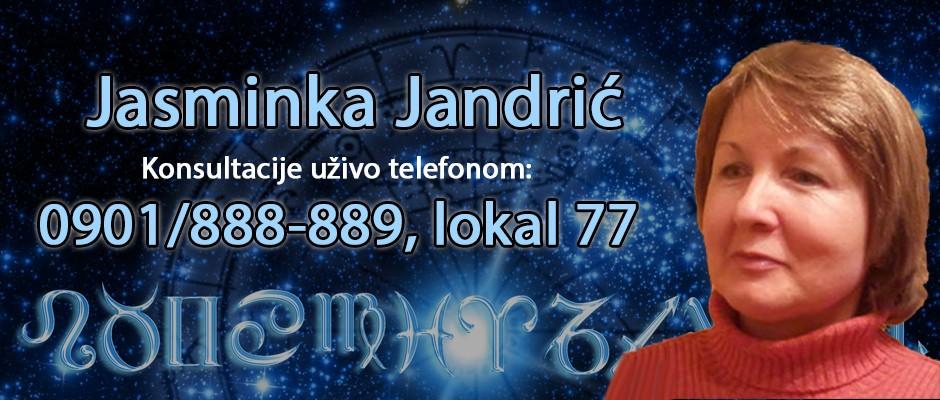 Astrolog, Numerolog, Tarot tumač i tumač snova Jasminka Jandrić