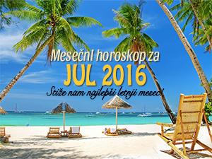 Mesečni horoskop za jul 2016.
