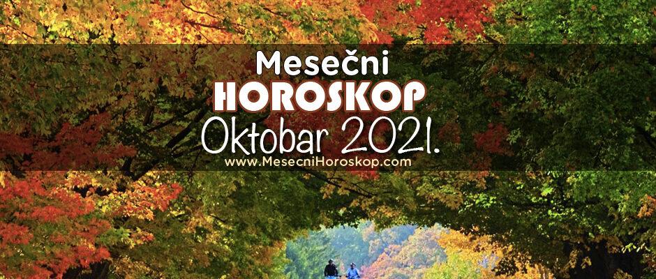 Mesečni horoskop za oktobar 2021.